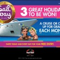 SAIL AWAY MEMBERS PROMOTION Proving the prize doesn't have to be huge, just well-targeted to gain results.